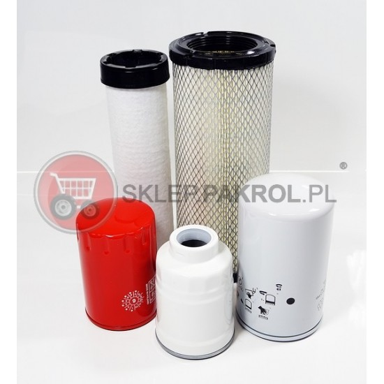 Zestaw filtrów na 250 mtg LS R60
