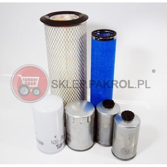 Zestaw filtrów Farmtrac 555 DT
