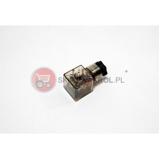 Wtyczka elektryczna 12V na elektrozawór