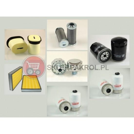 Zestaw filtrów VALTRA A72