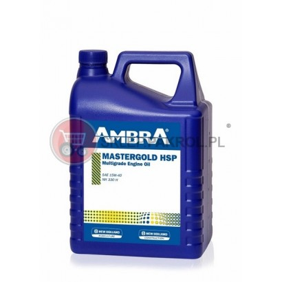 Olej silnikowy AMBRA MASTERGOLD HSP 15W40 5L