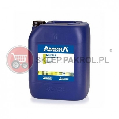Olej przekładniowo-hydrauliczny AMBRA MULTI G 10W30 20L