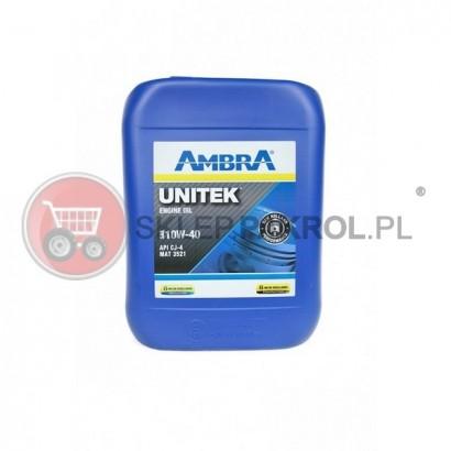 Olej silnikowy AMBRA UNITEK 10W40 20L