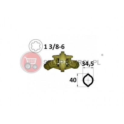Przegub homokinetyczny na rurę 34,5x40