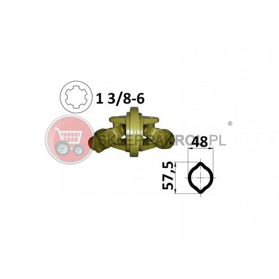 Przegub homokinetyczny na rurę 48x57,5