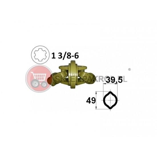 Przegub homokinetyczny na rurę 39,5x49