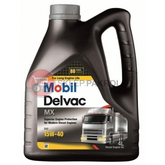 Olej silnikowy Mobil Delvac MX 15W40 4L