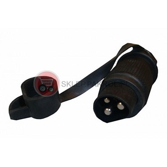 Wtyczka 3 pinowa 25A z płaskim połączeniem