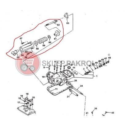 Amortyzator podnośnika hydraulicznego