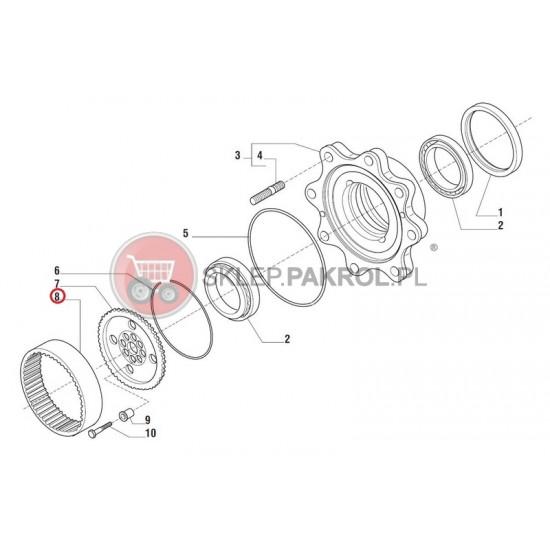 Koło zębate (wieniec)