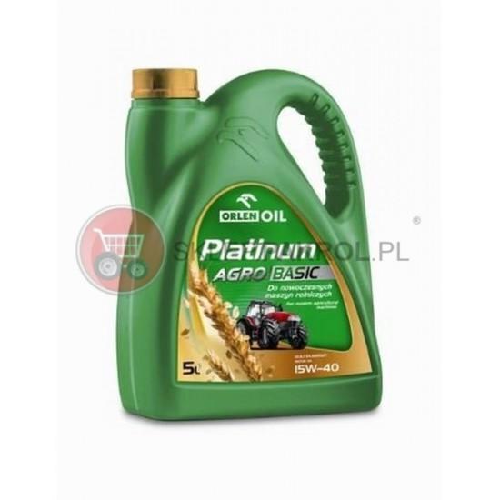 Olej silnikowy PLATINUM AGRO BASCI 15W40 5L
