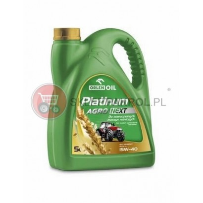 Olej silnikowy PLATINUM AGRO NEXT 15W40 5L